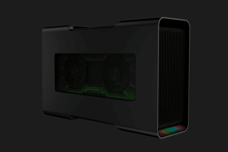 The Razer Core V2 will support even the taller graphics card including the Nvidia Quadro