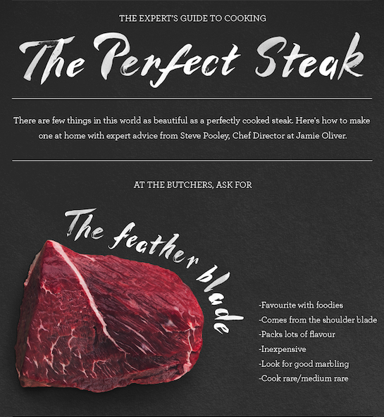 Top Tips and How to Cook the Perfect Steak with Jamie Oliver' Barbecoa Restaurant, London.