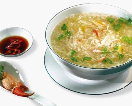 Cách nấu súp cua ngon