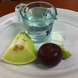 Honeydew and Apple Juice
