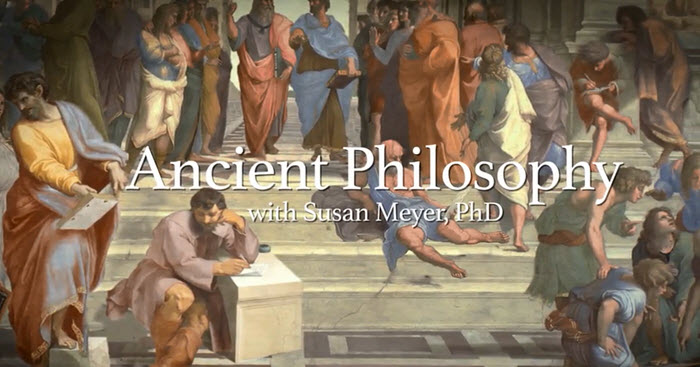 The introduction image from the Ancient Philosophy course