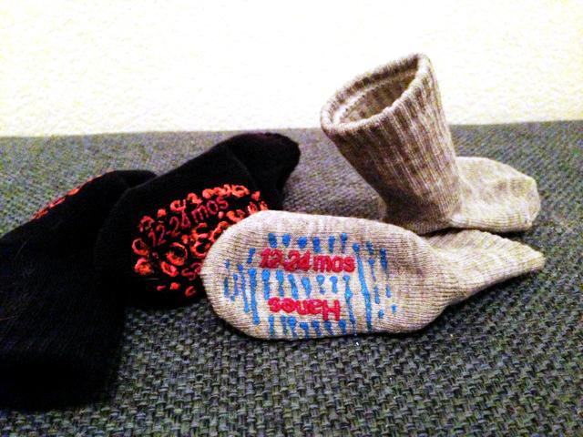 Whistle While You Work Diy Grip Socks