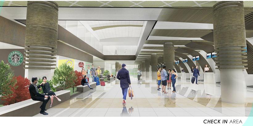 Gedung Terminal Baru Tahap 1 - Bandar Udara Tampa Padang Mamuju Yanikmatilah Saja