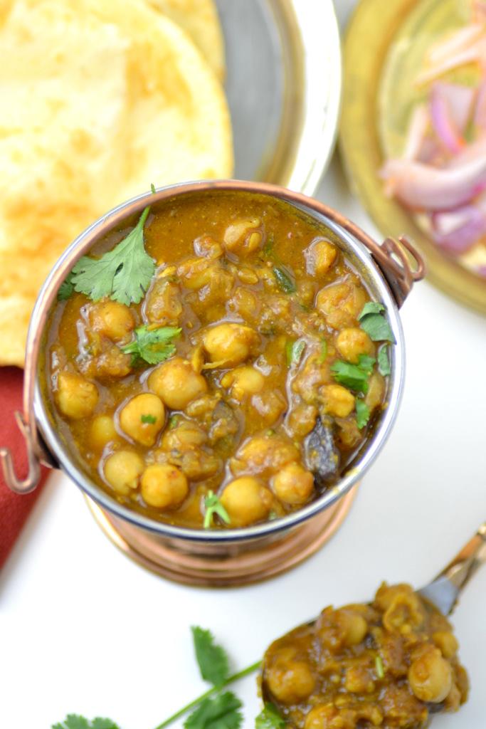 Chole Bhature Recipe images