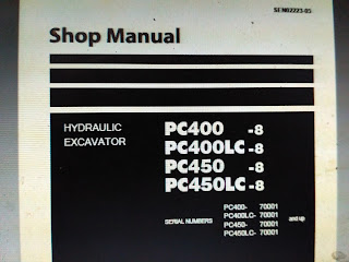 Shop manual PC400-8 pc400lc-8 pc450-8 pc450lc-8