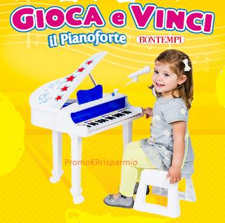 Logo Gioca e vinci il pianoforte Bontempi