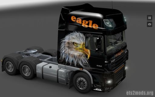 DAF Eagle Skin