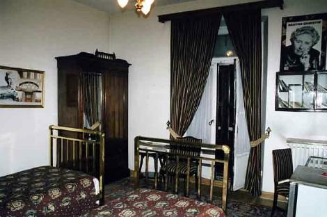 """Habitación del hotel donde Agatha Christie redacto """"Asesinato en el Orient Express"""""""