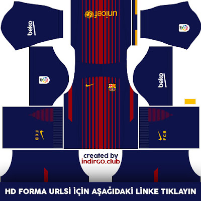 barcelona 2017 2018 kit forma dls17