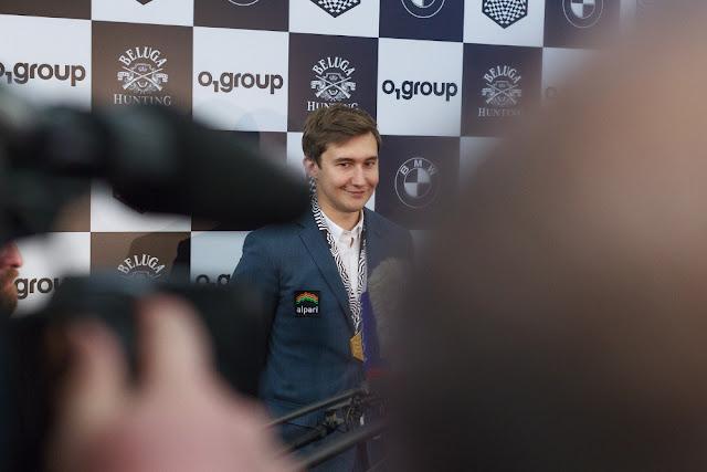 Sergey Karjakin no jugará el Norway Chess