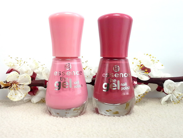 Essence The Gel Nail Polish 13 Forgive Me and 48 My Love Diary