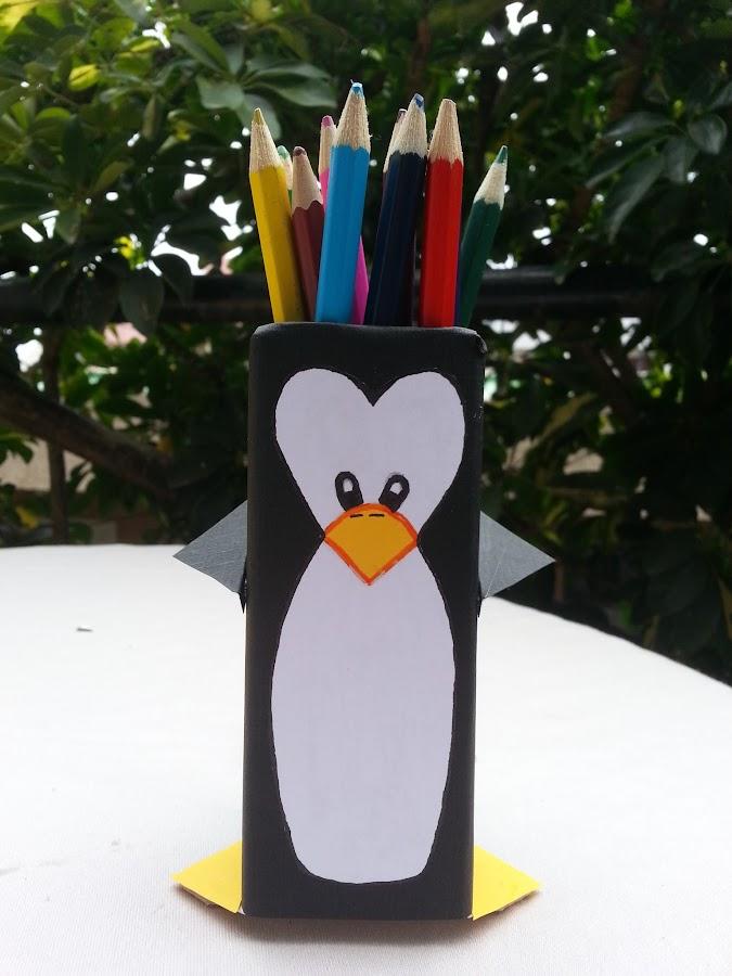 Pingüino Lapicero
