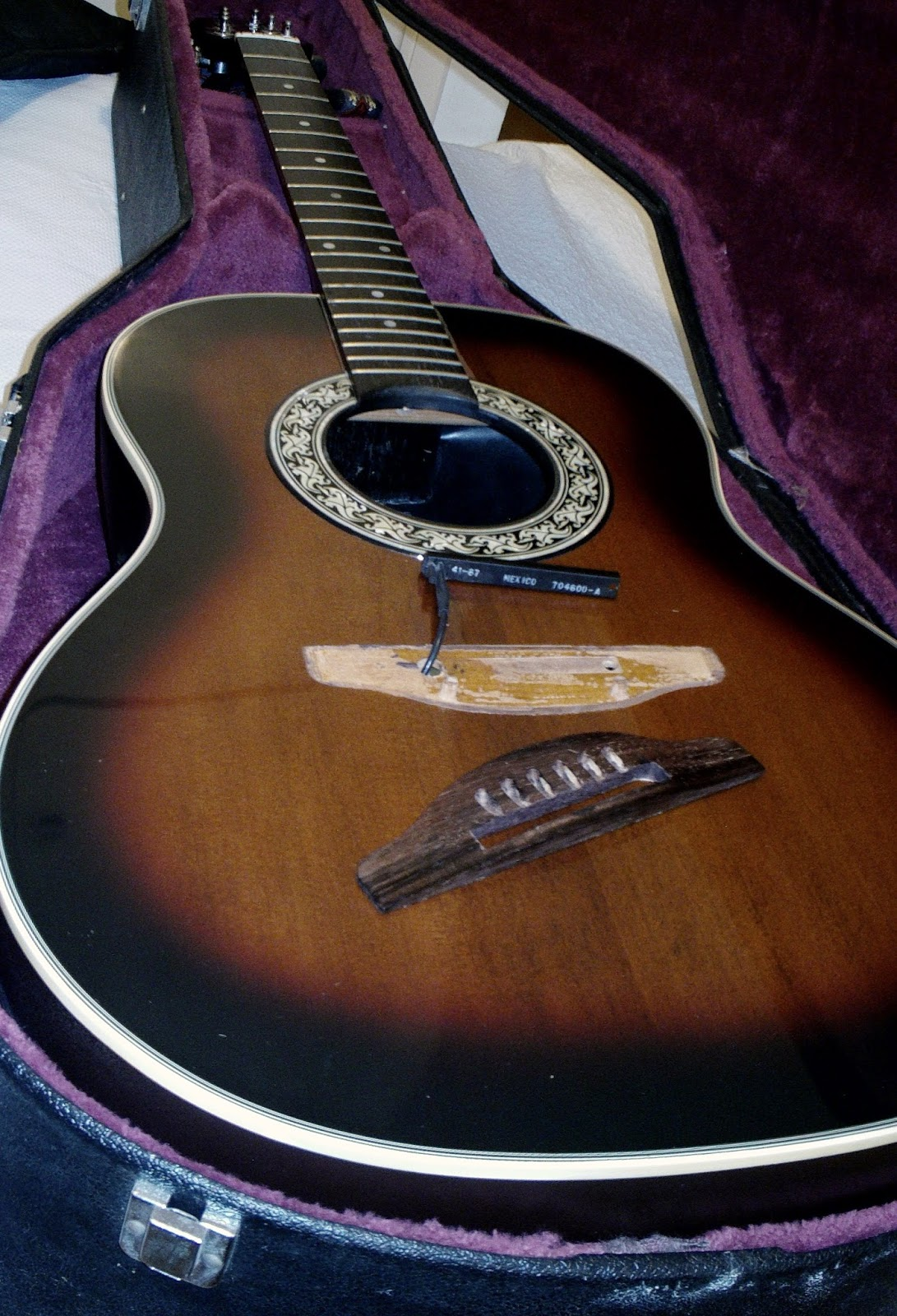 Ovation Pinnacle 3712 electro-acoustic guitar repair | Guitar Dreamer