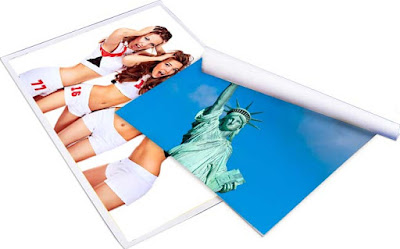 synthetic pp paper for poster paper, printing, beauty pirtures