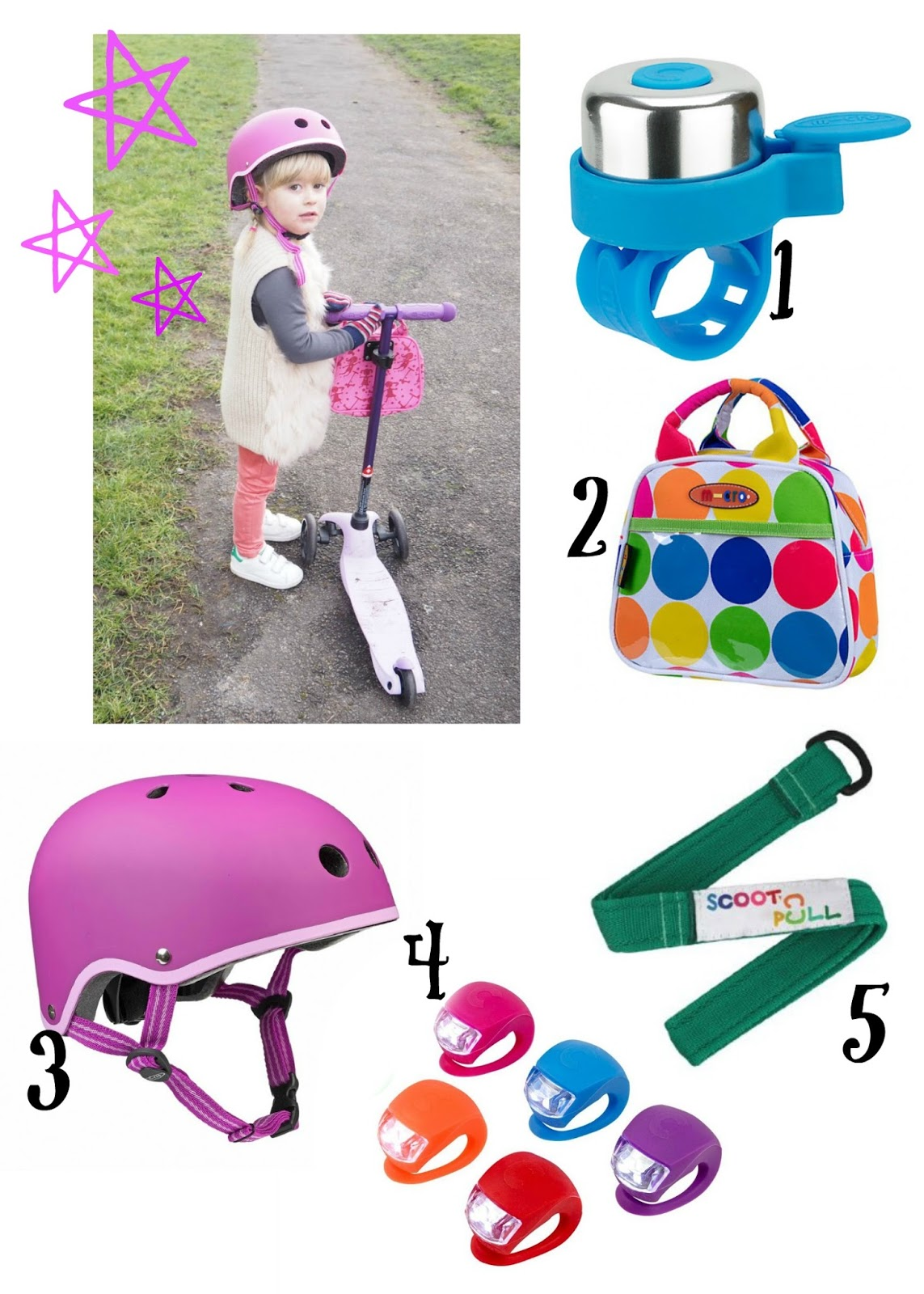 mamasVIB | V. I. BUSY BEES: Micro Scooters for all the family - and the perfect places to scoot