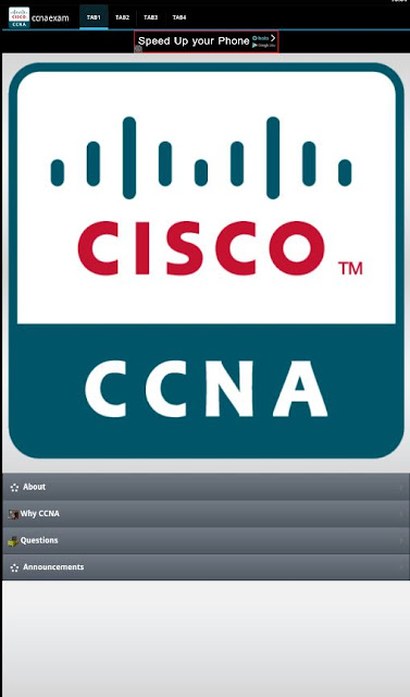 Cisco certification exam preparation apk