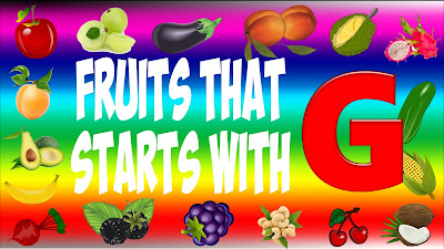 fruits that start with g