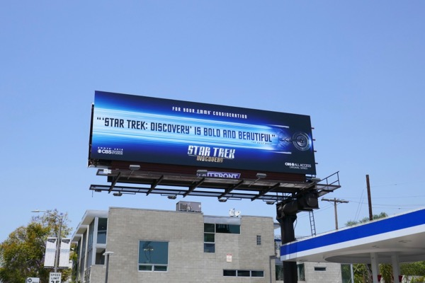 Star Trek Discovery season 1 Emmy FYC billboard
