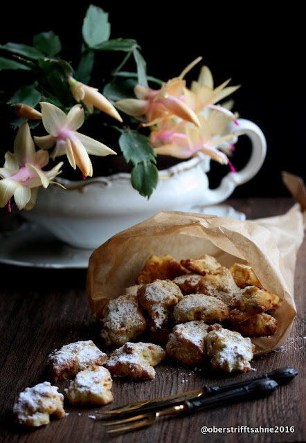 Weihnachtsplätzchen mit Aprikosen, Marillen