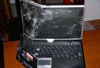 Dead laptop!