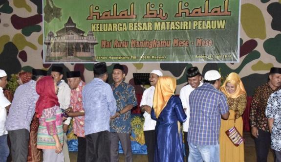 Perkuat Silaturahmi Keluarga Besar Matasiri Pelauw Gelar Halal Bi