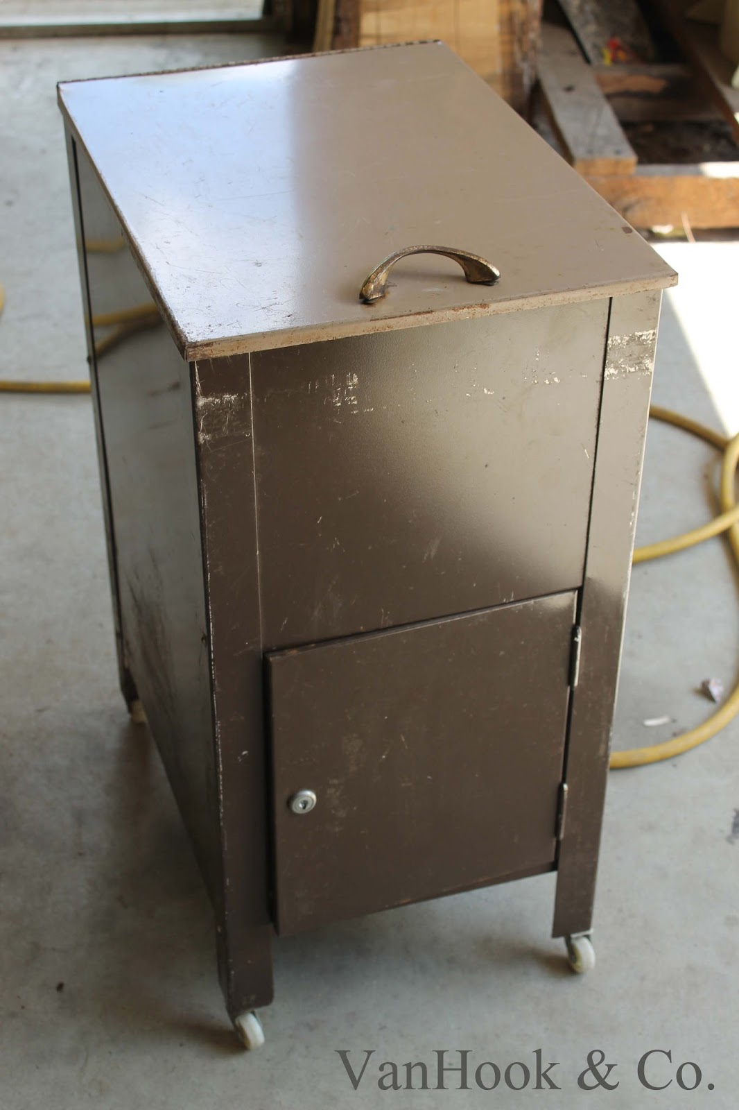 VanHook & Co.: Metal File Cabinet Repurposed