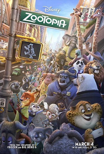 Zootopia 2016 BRRip 480p Dual Audio ORG Hindi 300MB