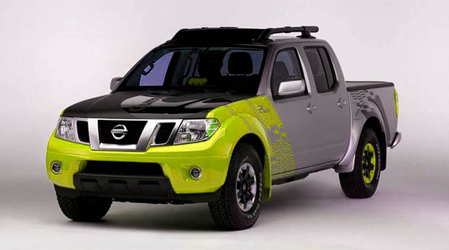 Booth 2017 Nissan Frontier