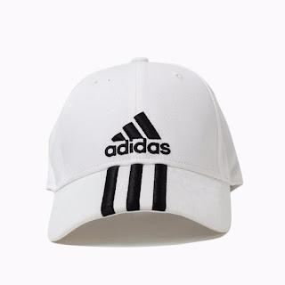 topi adidas putih
