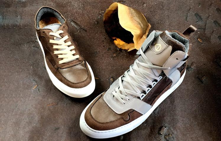 Kahveyle Tasarlanmış Ayakkabı