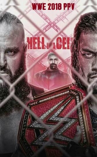 WWE Hell in a Cell 2018 English PPV 480p HDRip 850MB x264 Full Show