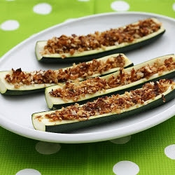 Stuffed Zucchini with Breadcrumbs