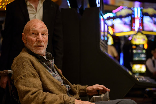 Sir Patrick Stewart as Xavier in Logan