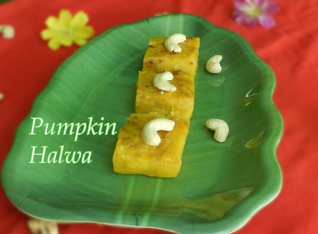Pumpkin Halwa With Sugar   Mathanga Halwa