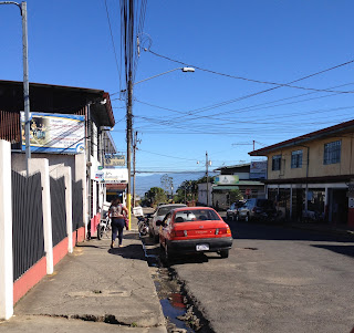 Street in Puriscal