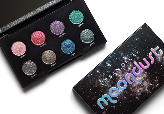 Urban Decay Moondust Eyeshadow Palette Fall 2016 Review Photos Swatches
