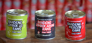 3 Varian Rasa - Bandeng Rawe Kaleng