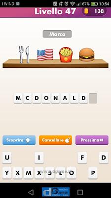 Emoji Quiz soluzione livello 47