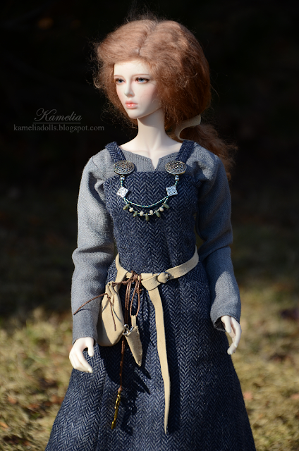 Viking outfit for resin bjd doll