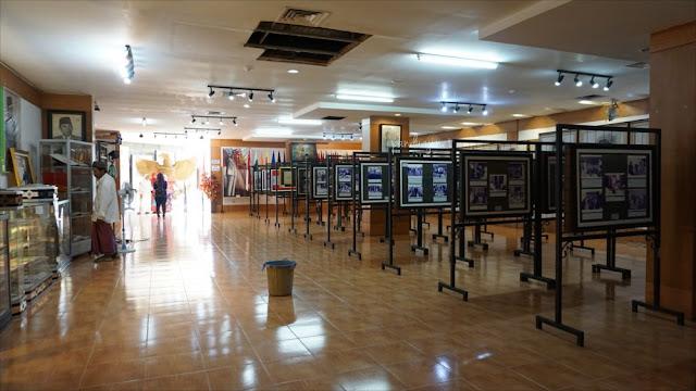 Perbaikan AC di Galeri di Kawasan Perpustakaan Nasional Bung Karno