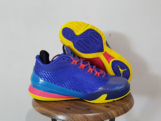 Sepatu Basket Jordan CP3 VIII Royal blue yellow , toko sepatu basket , jual sepatu basket , jual sepatu basket , harga jordan cp3, jordan cp3 VIII