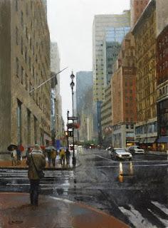 cuadros-con-vistas-urbanas-impresionismo-realista paisajes-urbanos-pinturas