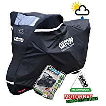 Sherco ST300 Oxford Stormex impermeable para motocicleta, color negro
