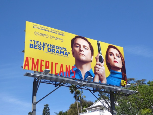 Americans season 5 Emmy consideration billboard