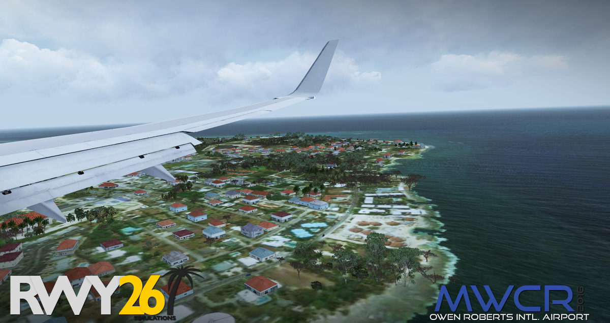 FSX and P3D RWY26 Grand Cayman MWCR 2016 - Master Addons