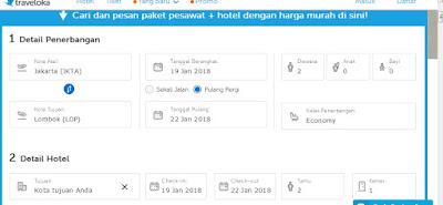 Cari tiket pesawat dan hotel jadi satu di Paket Honeymoon Traveloka