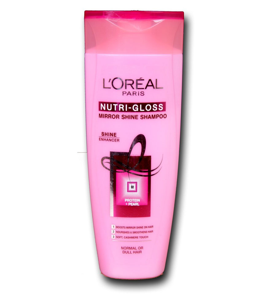 Loreal Paris Nutri Gloss Mirror Shine Shampoo 330 ML