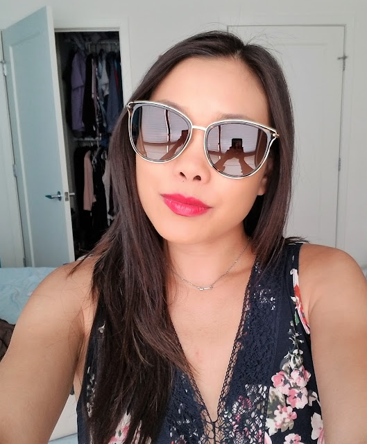 Amanda Cat Eye Tortoise Sunglasses