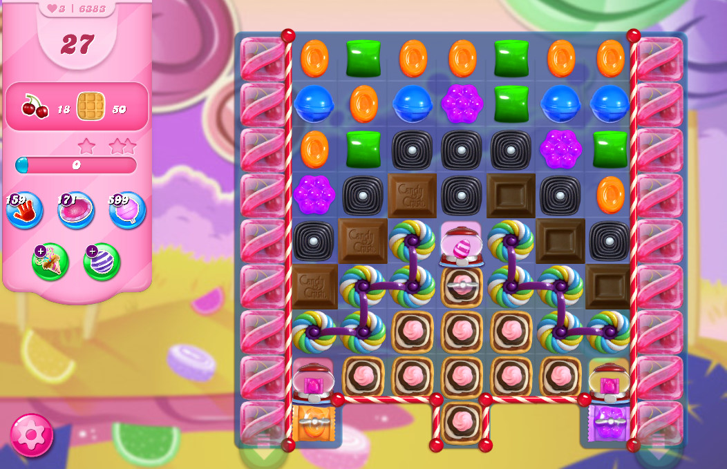 Candy Crush Saga level 6383
