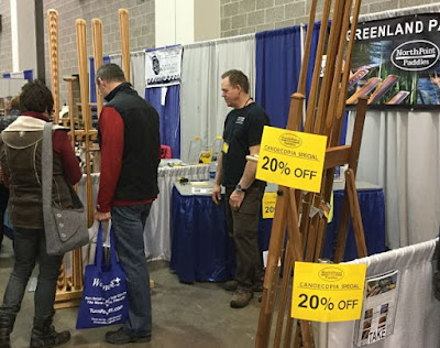 NorthPoint Paddles Booth During the Show